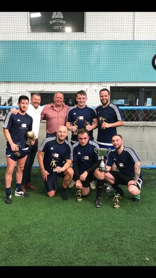 Taylor Wimpey North West 5-A-Side Champions 2017